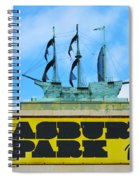 Welcome To The Asbury Park Boardwalk Spiral Notebook