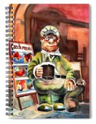 Welcome To The Czech Republic 04 Spiral Notebook