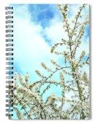 Welcome Vintage Spring Spiral Notebook