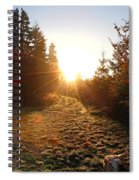 Welcoming Dawn Spiral Notebook