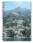 Welcoming Positano Spiral Notebook