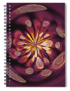 Welding Rods Abstract 9 Spiral Notebook