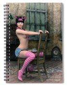 Well Dressed Spiral Notebook
