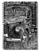 Well Drilling Truck Spiral Notebook