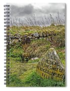 Well Of The Dead Spiral Notebook