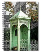 Well Of The Three Brothers Spiral Notebook