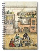 Well Stocked Rustic Kitchen Spiral Notebook