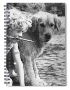 Well Trained Boy Spiral Notebook