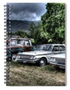 Well Used Cars For Sale Spiral Notebook