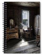 Wells Hotel Bridal Suite - Garnet Ghost Town - Montana Spiral Notebook