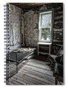 Wells Hotel Room 2 - Garnet Ghost Town - Montana Spiral Notebook