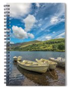 Welsh Boats Spiral Notebook