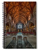 Welsh Cathedral  Spiral Notebook