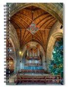 Welsh Christmas Spiral Notebook