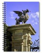 Welsh Dragon Spiral Notebook