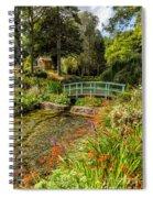 Welsh Garden Spiral Notebook