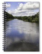 Welsh River Scene Spiral Notebook