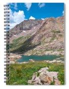 Weminuche Wilderness Area Landscape Spiral Notebook