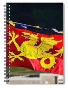 Wessex Wyvern Flag Spiral Notebook