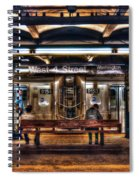 West 4th Street Subway Spiral Notebook