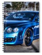 West Coast Bently Cgt Spiral Notebook