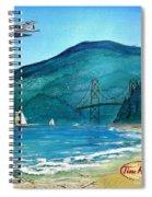 West Coast Dream Spiral Notebook