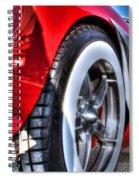 West Coast Vette Spiral Notebook