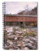 West Cornwall Covered Bridge Spiral Notebook