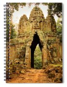 West Gate To Angkor Thom Spiral Notebook