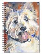 West Highland Terrier Spiral Notebook