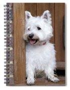 West Highland White Terrier Spiral Notebook