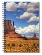 West Mitten  Spiral Notebook
