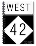 West Nc 42 Spiral Notebook