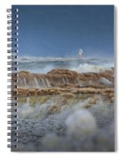 West Pierhead In Ice Spiral Notebook
