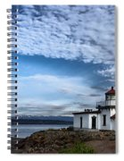 West Point Lighthouse II Spiral Notebook