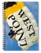 West Point Sky Diver Spiral Notebook