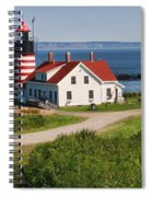 West Quaddy Lighthouse Spiral Notebook