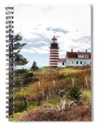 West Quoddy 4041 Spiral Notebook