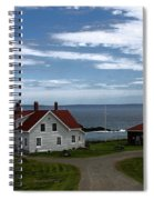West Quoddy Lighthouse Spiral Notebook