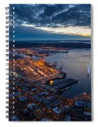 West Seattle Water Taxi Spiral Notebook