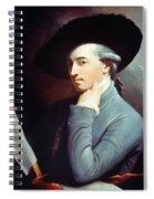West Self-portrait Spiral Notebook