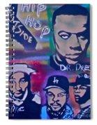 West Side Hip Hop Spiral Notebook