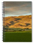 West Side Of Squaw Butte Spiral Notebook