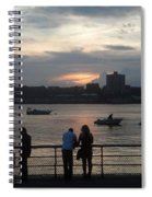 West Side Sunset Spiral Notebook