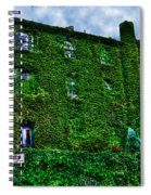 West Village Townhouse Ivy Spiral Notebook