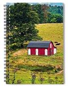 West Virginia 2 Spiral Notebook