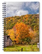 West Virginia Barns  Spiral Notebook