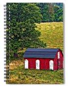 West Virginia Oil Spiral Notebook