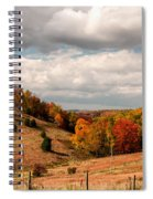 West Virginia Rural Landscape Fall Spiral Notebook