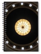 West Virginia State Capital Rotundra Spiral Notebook
